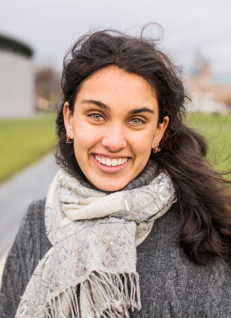 Sita Coenraads (20) Beeld Eva Plevier