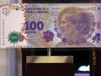 Evita siert nieuw bankbiljet in Argentinië