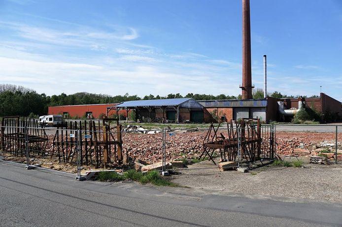 De vroegere steenbakkerij aan de Warandestraat in Steendorp.