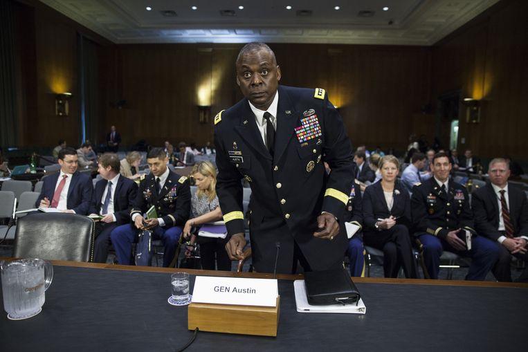 Generaal Lloyd J. Austin mag het Pentagon gaan leiden.  Beeld Getty Images