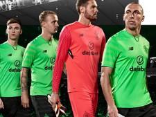 Celtic speelt komend seizoen in groene, groene én groene shirts