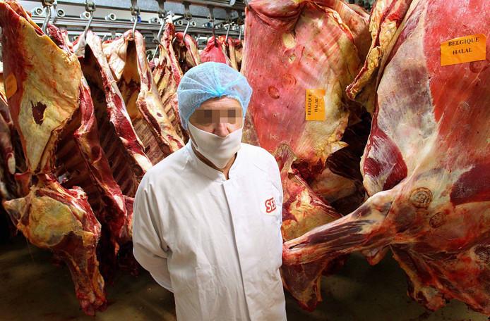 Patrice M., de directeur van de vleesfabriek in Castelnaudary.