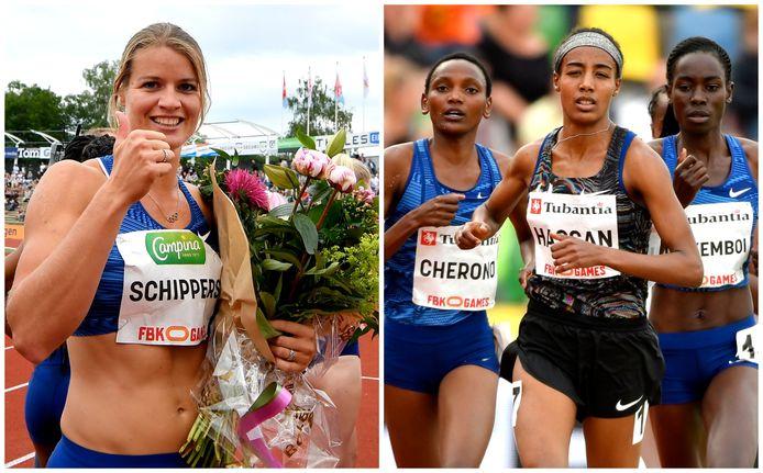Dafne Schippers en Sifan Hassan zijn vanaf 15.00 uur te gast in de show. Beide atletes komen dit weekend in actie in Hengelo.