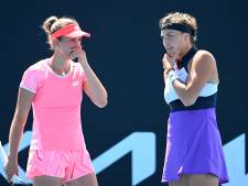 Elise Mertens et Aryna Sabalenka en demi-finales du double