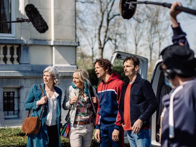 """Machteld Timmermans staat op de set van 'W817'-film: """"Maar ik werk nog altijd drie dagen per week voor mijn andere job"""""""