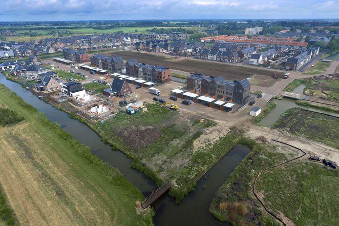 Nieuwbouw in Broekgraaf, bij Leerdam.