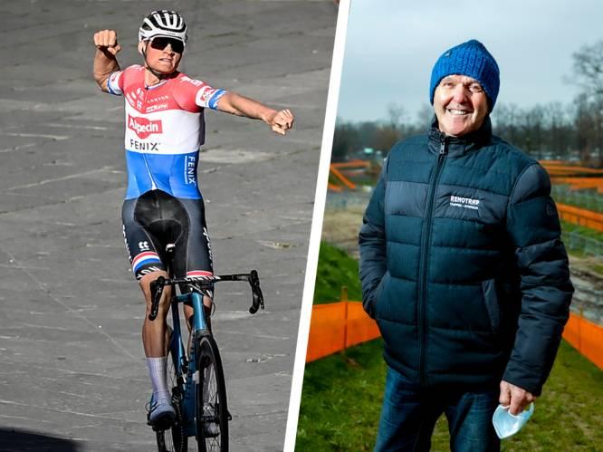 """Roger De Vlaeminck genoot van impressionante Van der Poel: """"Mathieu won deze Strade Bianche… vorige week zondag al, in Kuurne-Brussel-Kuurne"""""""