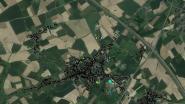 Thermografische luchtfoto staat online
