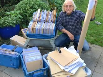 """En toen leverde postbode bij Marc de Bel nòg eens 12.000 tekeningen af: """"Een dag te laat, maar ik ga ze toch bekijken"""""""