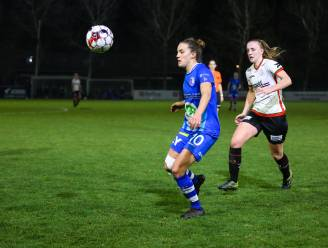 """AA Gent Ladies verliest derby van Zulte Waregem: """"Vijftien minuten goed spelen volstaat nooit"""""""