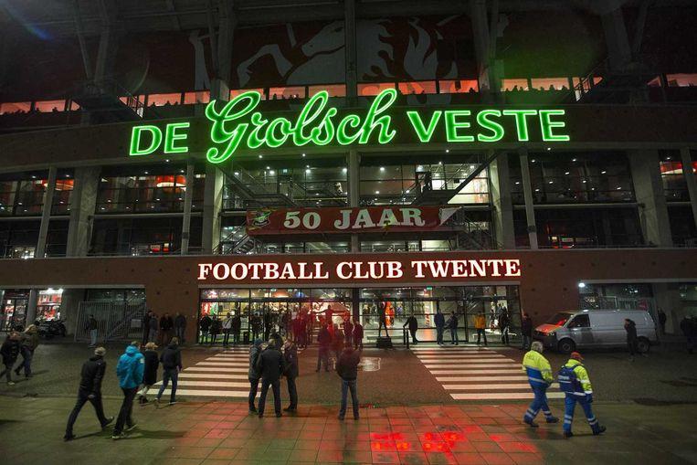Het stadion van FC Twente, de Grolsch Veste. Beeld anp