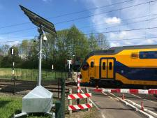 Camera's beveiligen spoorwegovergang bij de Zuidendijk