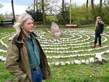 Labyrint in Dedemsvaart, voor een antwoord op levensvragen in 'verwarrende tijd'