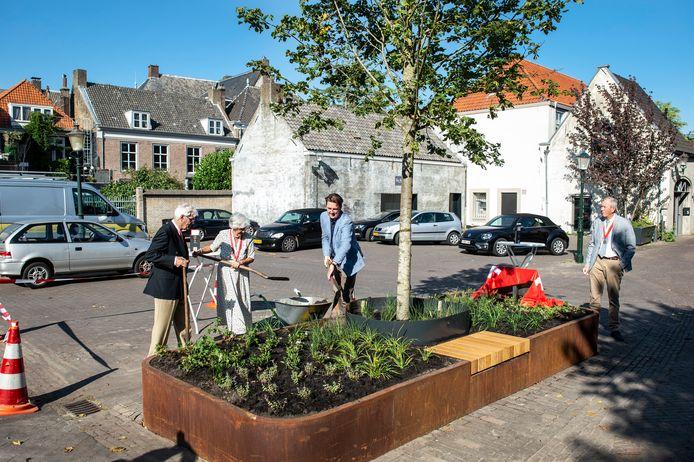Vanwege het vijftig jarig bestaan (plus 1) heeft de Heerlijke Orde van Breda in het najaar van 2021 de gemeente een boom geschonken.