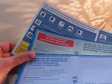 Someren maakt pijnlijke fout: Per ongeluk stempassen verstuurd naar overledenen