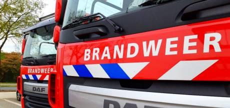Bewoners moeten tijdelijk ander onderdak vinden na felle brand in schuur