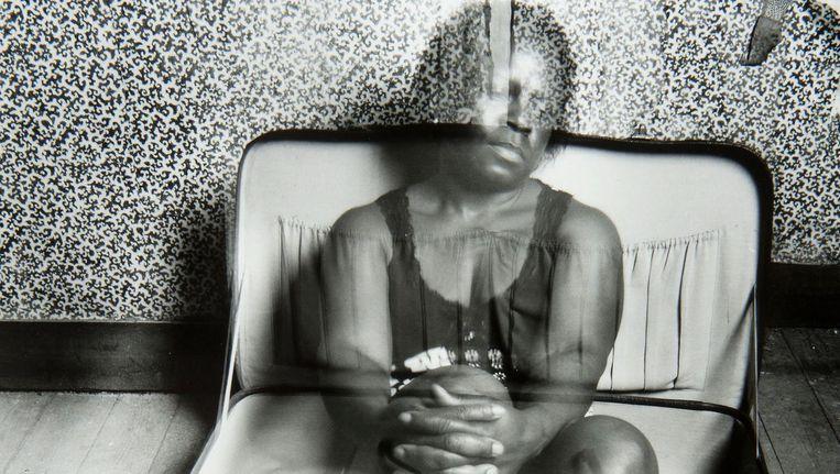 Kunstenaar Hélène Akouavi Amouzou maakte deze foto op het moment dat zij illegaal in België verbleef. Beeld Hélène Akouavi Amouzou