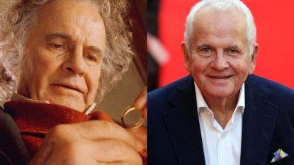Acteur Ian Holm (88), Bilbo Baggins uit 'The Lord of the Rings', overleden