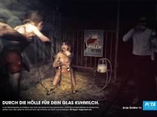 "Jugée ""trop choquante"", la campagne de Peta interdite d'affichage public"