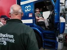 Lachende gezichten bij eerste truckrun Achterhoek