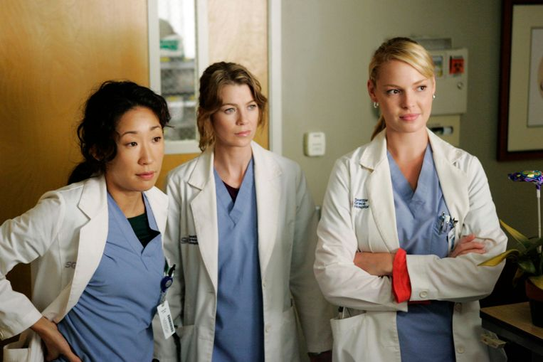 Grey's Anatomy videoland Beeld Brunopress