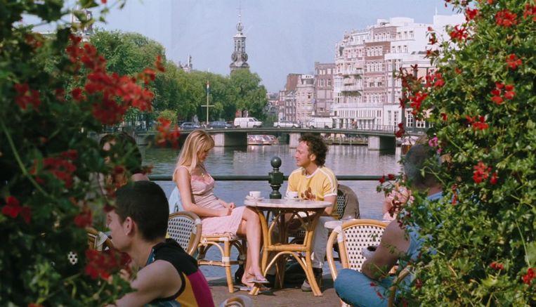 Hanna Verboom als Eva en Rob Schneider als Deuce Bigalow. Beeld