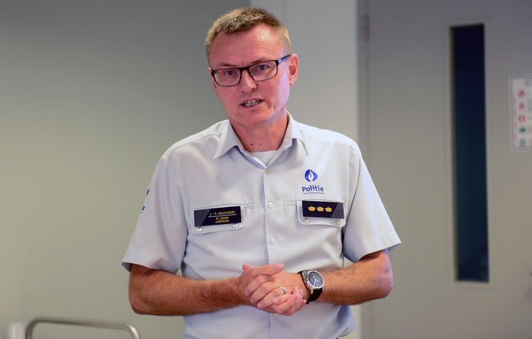 Korpschef Jean-Paul Mouchaers.