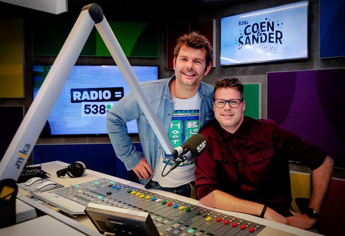 Coen en Sander.