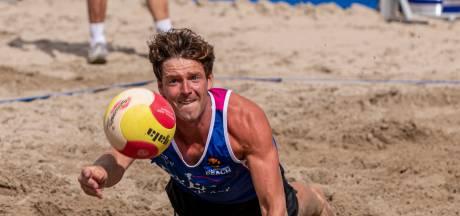 Net geen medaille voor beachvolleyballer Boehlé in Breda