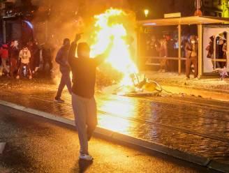 Betoging voor overleden Ibrahima (23) ontspoort volledig: meer dan 100 arrestaties, relschoppers bekogelen politiekantoor met molotovcocktails
