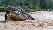 180 doden na zware moessonregens in India, Myanmar en Vietnam