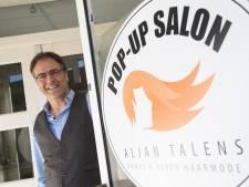Kapper Aljan uit Warnsveld is klaar voor stormloop (en breidt uit in lege tandartsenpraktijk)