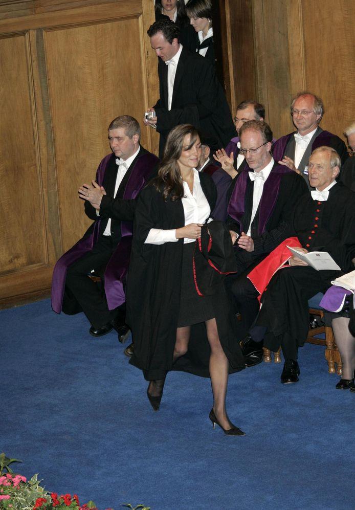 Kate Middleton studeerde af in hetzelfde jaar.