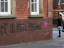 """Des tags souhaitent à Margaret Thatcher de """"pourrir en enfer"""""""