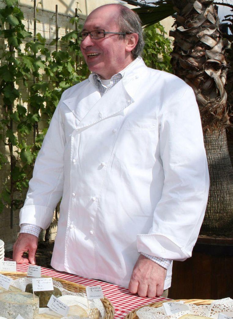 Chef Guy Van Cauteren, hier tijdens de Week van de Smaak in 2008. Beeld photo news