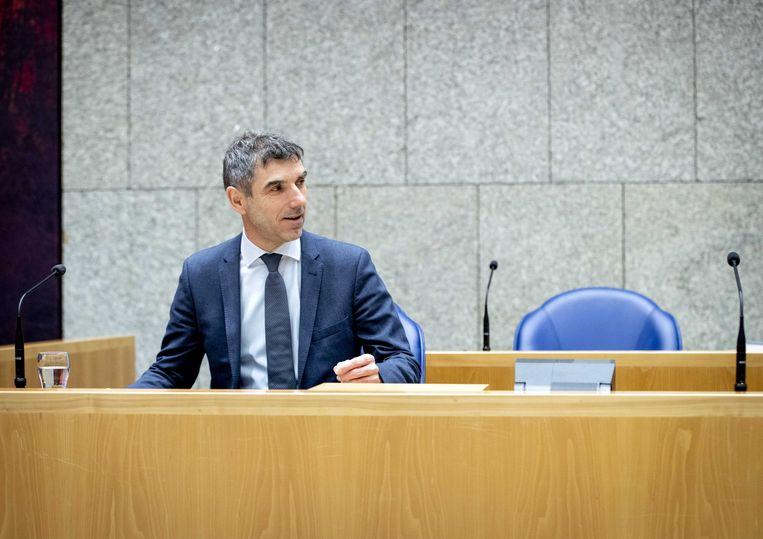 Paul Blokhuis: 'Het kabinet erkent dat de druk op gemeenten fors is toegenomen.' Beeld ANP