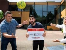 Zaalvoetballer 'Boukie' wint stimuleringsprijs van 500 euro en dit gaat hij met het geld doen