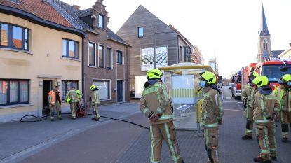 Brand in elektriciteitskast zorgt voor heel wat rookschade in woning