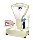 De gemiddelde Nederlander eet ongeveer 18 kilogram varkensvlees per jaar.