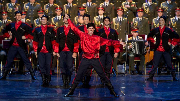 Het Alexandrov Ensemble. Beeld ap