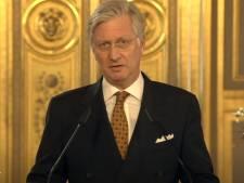 """Le roi Philippe: """"Notre pays est au centre des opérations de vaccinations, le monde entier nous regarde"""""""