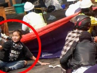 Foto van tiener met slogan 'Alles komt goed' gaat viraal tijdens protesten in Myanmar, wat later krijgt 'Angel' kogel door het hoofd
