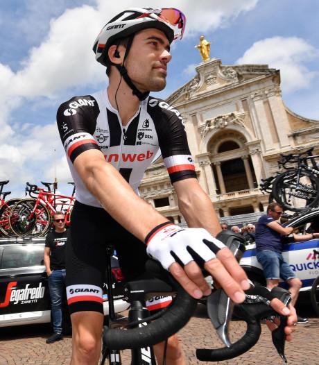 Ploegleiders zien in Dumoulin de winnaar van deze Giro