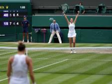 Karolina Pliskova rejoint Ashleigh Barty en finale de Wimbledon