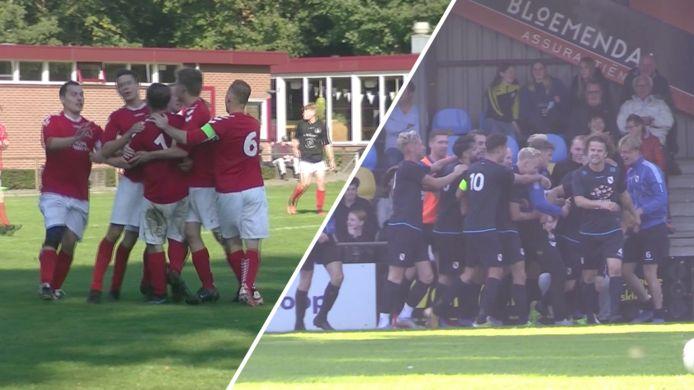 In het amateurvoetbal werd afgelopen weekeinde volop gejuicht. Bekijk de beelden in de bovenstaande video.