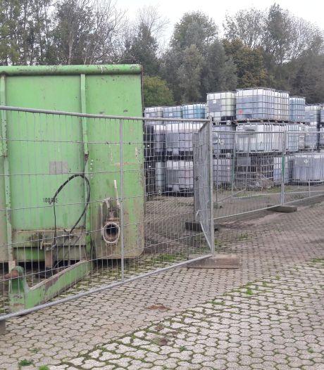 Afvoer vaten blusschuim van terrein Rutgers Milieu kan oplopen tot 1 miljoen euro