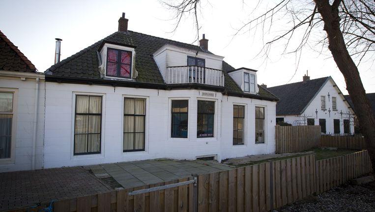 De villa in het Utrechtse stadsdeel De Meern waar de Roma-familie Nicolich onderdak kreeg van de gemeente Beeld ANP
