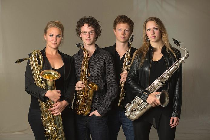 Berlage Saxophone Quartet.
