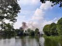 Brand bij Heineken in Den Bosch.