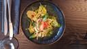 Salade met kreeft